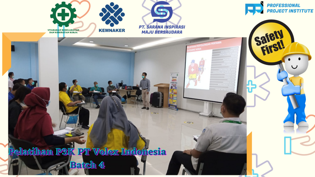 Pelatihan P3K PT Volex Indonesia